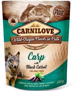 Carnilove - Pouch Karper met zwarte wortel