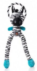 K9 Thunda Tugga Leggy Zebra