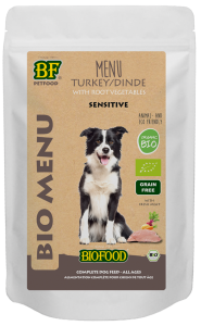 Biofood - Organic Kalkoen Menu Pouch