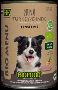 Biofood - Organic Kalkoen Menu Blik