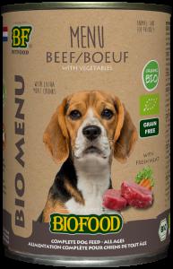 Biofood - Organic Rund Menu Blik