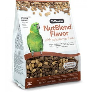 Zupreem - NutBlend Flavor Parrots and Conures