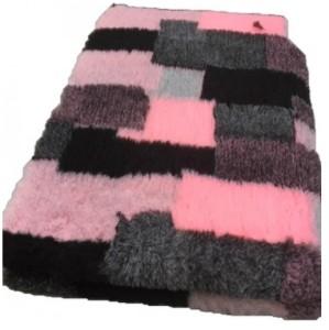 Vetbed - Patchwork Roze,Grijs, Zwart Wit  Antislip